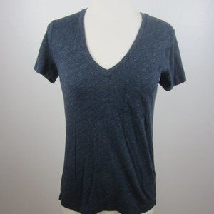 Madewell Women's XXS Gray Pocket Tee